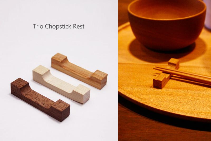 トリオ箸置き Trio Chopstick Rest