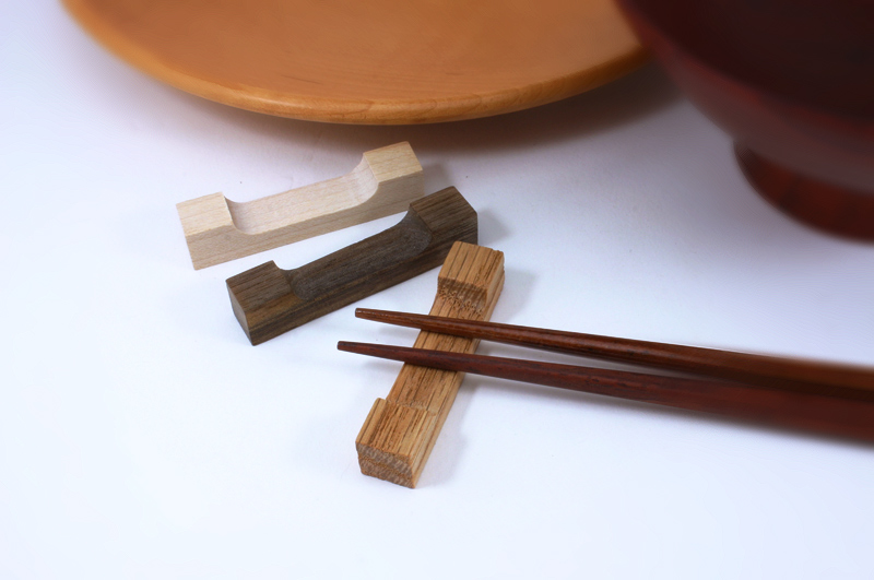 トリオ箸置き Trio Chopstick Rest