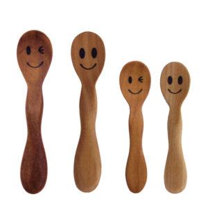 ニコニコ ウィンク スプーン・フォーク smile wink spoon fork