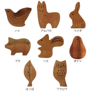 モチーフ箸置き Cute Motif Chopstick Rest