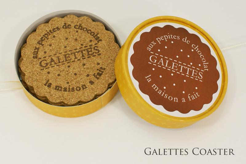 ガレットコースター Galettes Coaster