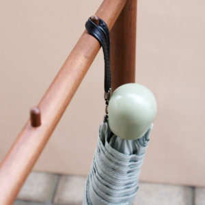 フック付き傘立て Umbrella stand with hooks