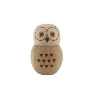 ふくろう ソルト&ペッパー・七味入れ Owl Seasonings Container