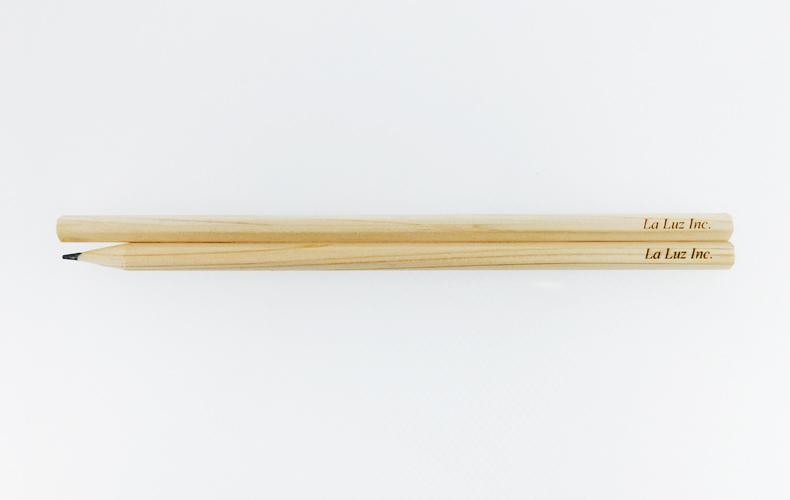 間伐材ノベルティアイテム 鉛筆