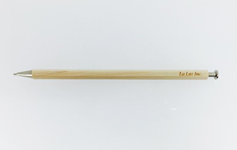 間伐材ノベルティアイテム シャープペン
